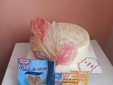 Prăjitura pregătită de Ludmila