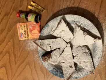 Prăjitura pregătită de Iulian