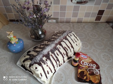 Prăjitura pregătită de Claudia