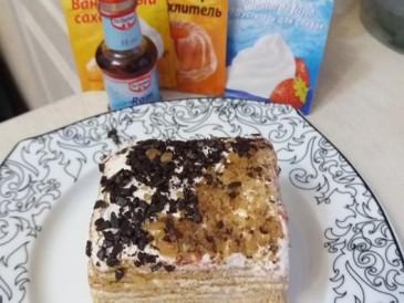Prăjitura pregătită de Cristina