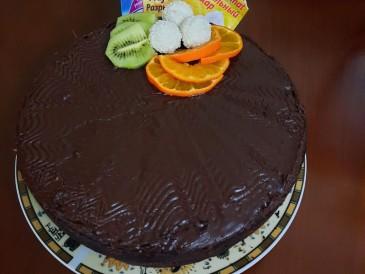 Prăjitura pregătită de Angela