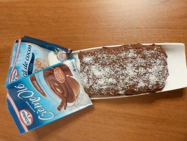 Prăjitura pregătită de Roman