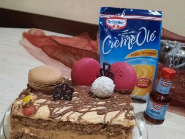 Prăjitura pregătită de Ramona