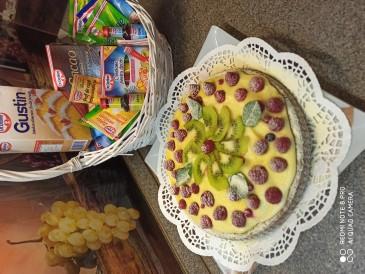 Prăjitura pregătită de Tatiana