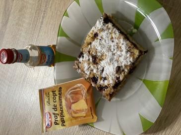 Prăjitura pregătită de Testemitanu