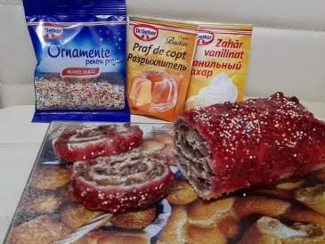 Prăjitura pregătită de Mihai