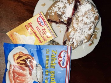 Prăjitura pregătită de Stanislav