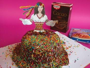 Prăjitura pregătită de Valeriu