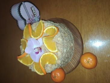 Prăjitura pregătită de Zubatii