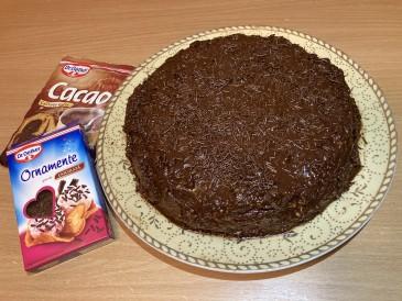Prăjitura pregătită de Ecaterina