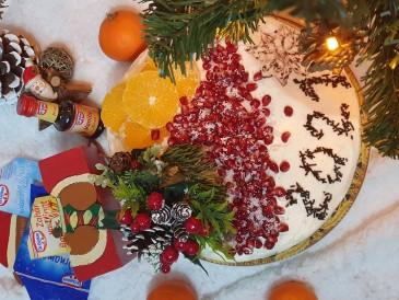 Prăjitura pregătită de Dorina