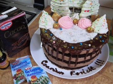 Prăjitura pregătită de Oxana