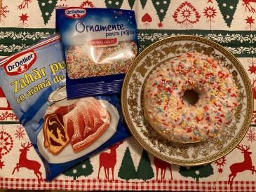 Prăjitura pregătită de Elvira
