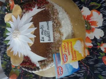 Prăjitura pregătită de Nadejda