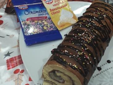 Prăjitura pregătită de Juratu