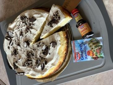 Prăjitura pregătită de Evelina